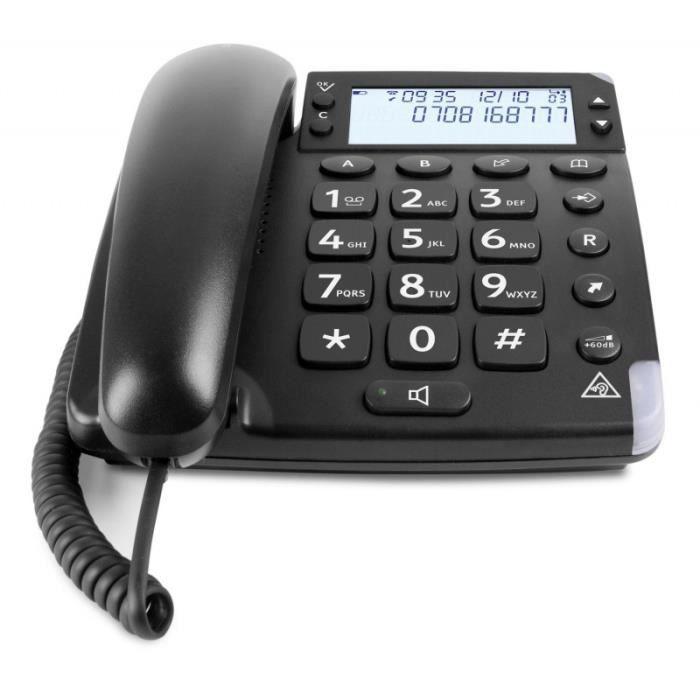 Téléphone filaire DORO - MAGNA 4000 • Téléphone fixe