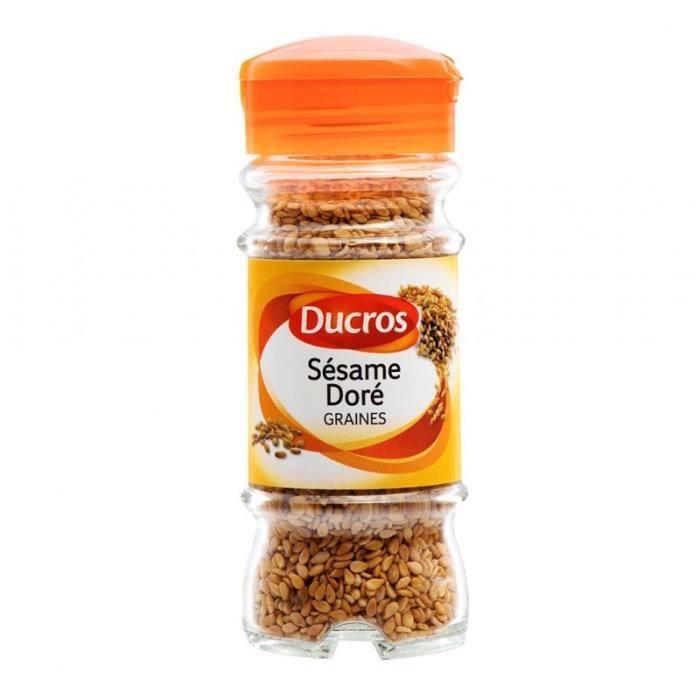 Ducros Sésame Doré Graines 50g (lot de 3)