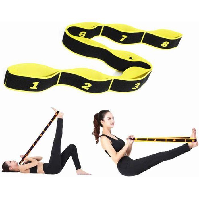 Yoga Femmes Ceinture Élastique Musculation Adulte Danse Latine Fitness Gym Corde Jambe Bandes De Résistance Sangle Elastiband Sport
