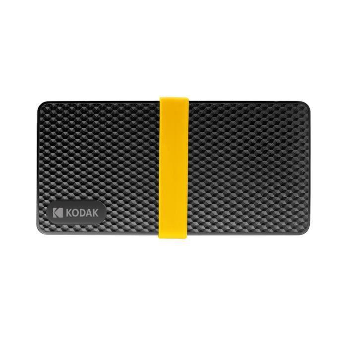 KODAK série X200 Disque 1 ToSSD mobile HD SSD faible consommation d'énergie Lecture et écriture rapides à faible bruit