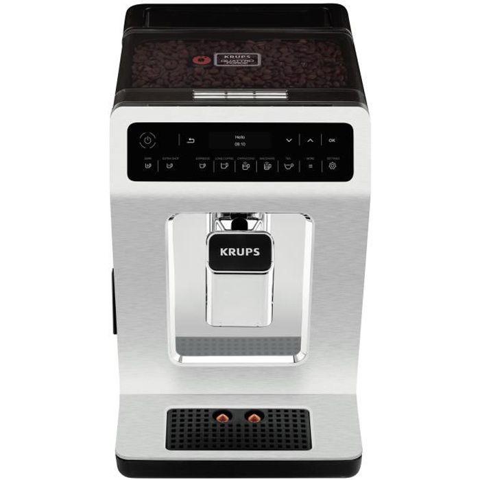 Krups Evidence EA891C, Autonome, Machine à expresso, 2,3 L, Broyeur intégré, 1450 W, Chrome, Métallique