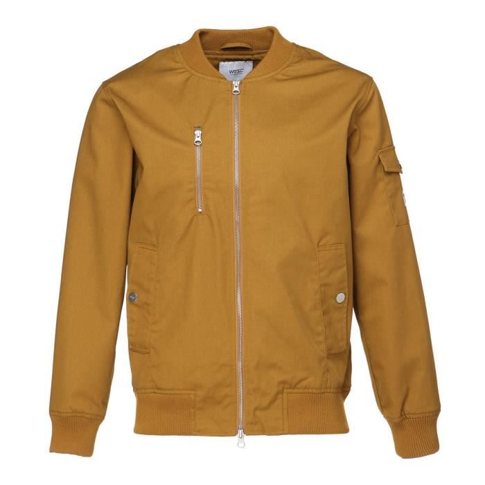 WESC Veste The Bomber - Homme - Marron
