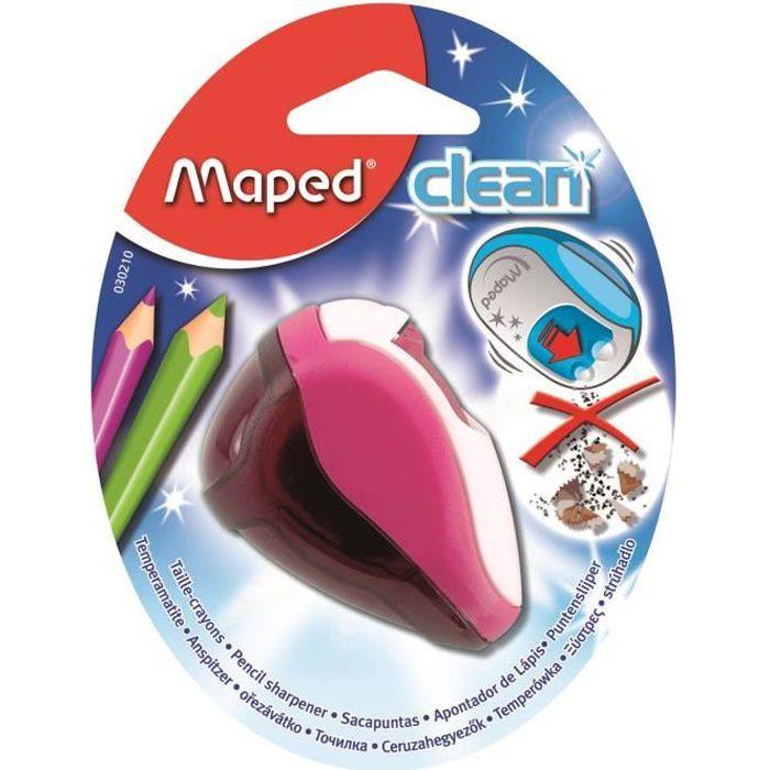 MAPED Taille-Crayons Clean 2 Trous Réserve