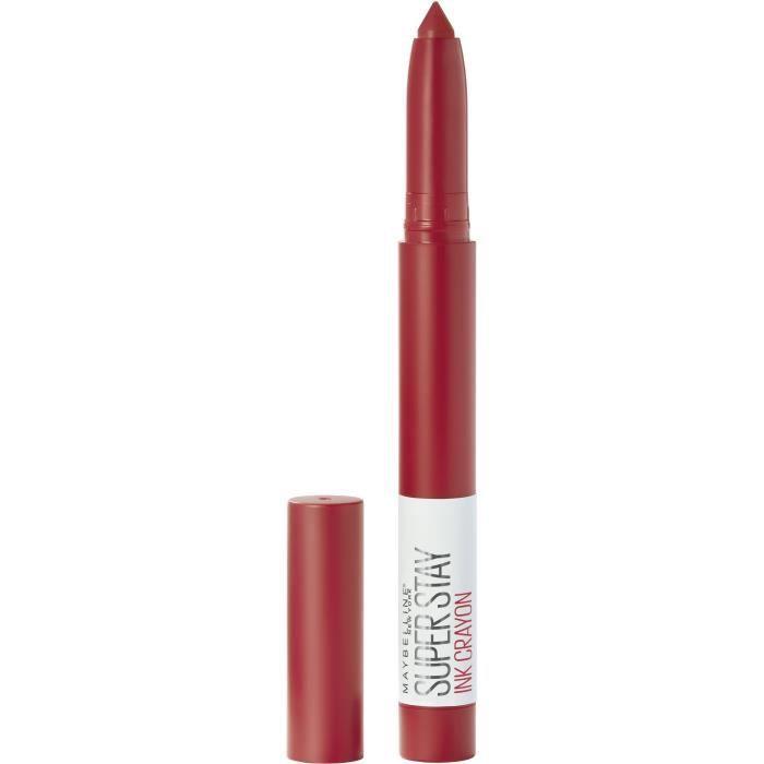 Maybelline New York - Crayon Rouge à Lèvres - Superstay Ink - Hustle In Heels (45)