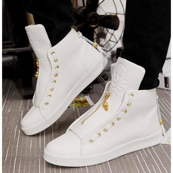 Baskets Montantes Fashion Street Swag Blanc Blanc