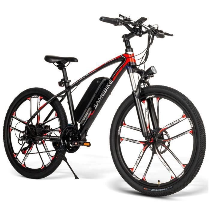26 pouces vélo électrique assistance électrique E-bike 350W cyclomoteur