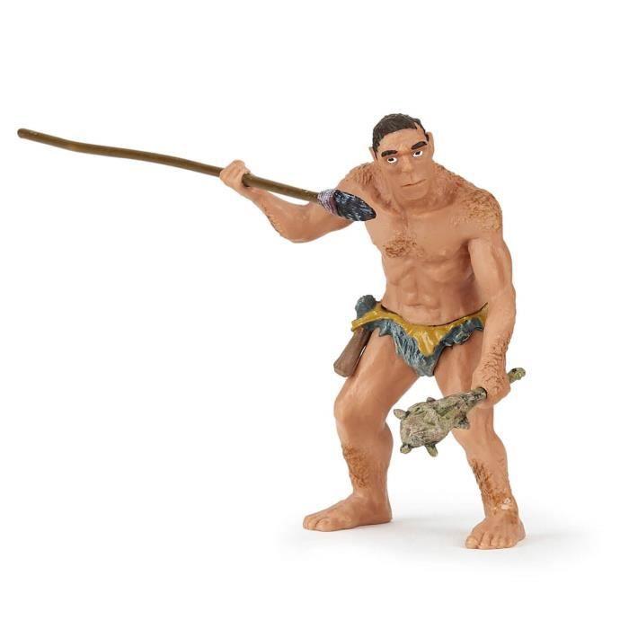 Figurine Homme préhistorique aille Unique Coloris Unique