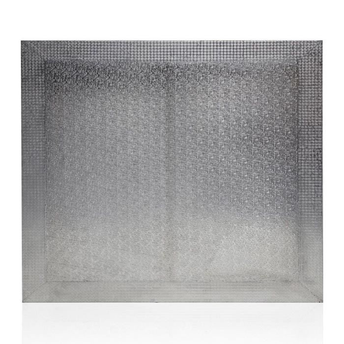 Tête De Lit Design -cordoba- 140cm Argent - Paris Prix