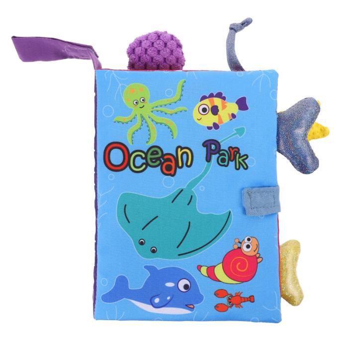 1pc enfants livre en tissu jouet éducatif bébé VEHICULE A CONSTRUIRE - ENGIN TERRESTRE A CONSTRUIRE