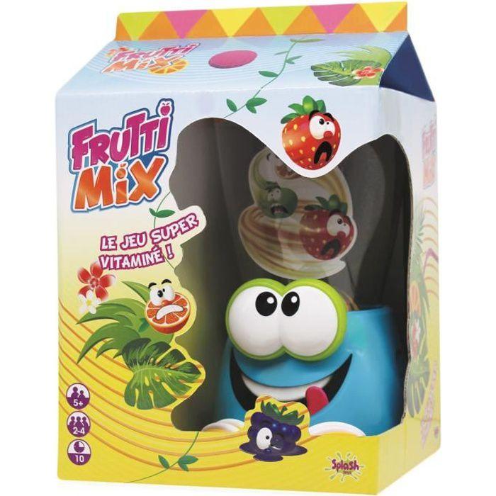SPLASH TOYS Frutti Mix - Il fait voler les fruits dans tous les sens - Jeu d'action et de réflexe -