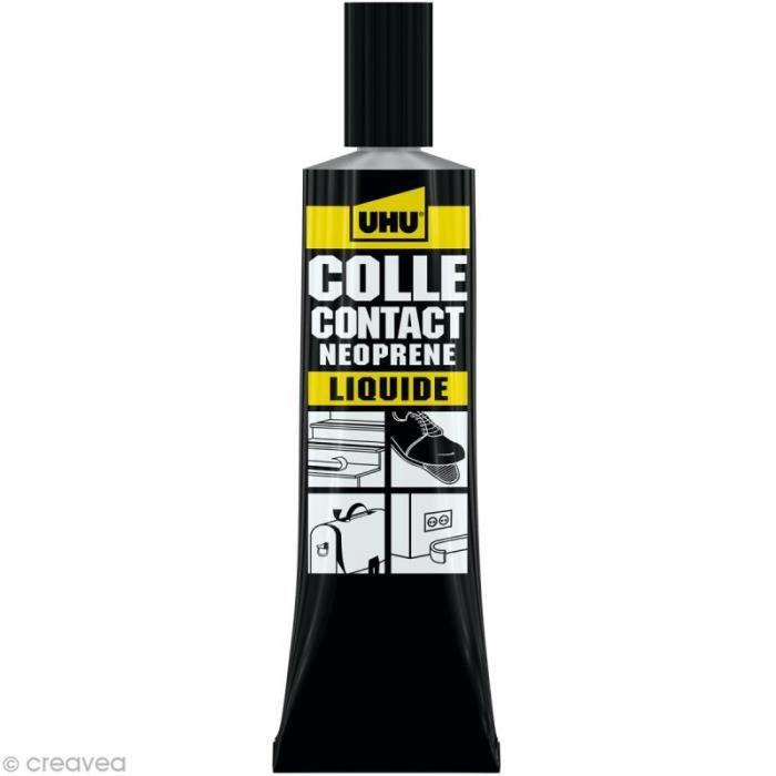 Colle UHU néoprène liquide - 46 ml