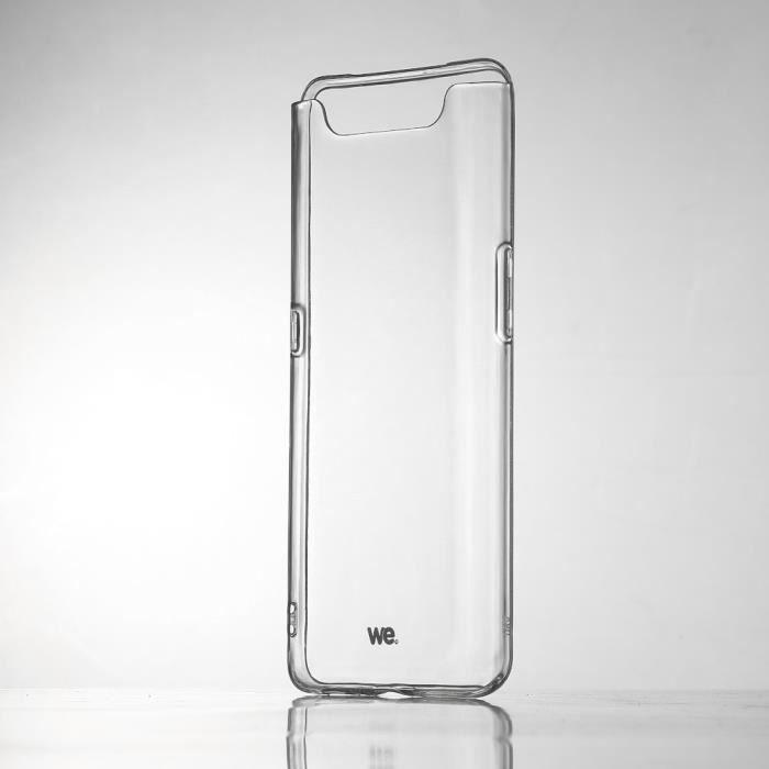 WEWE Coque de protection transparente pour smartphone Samsung Galaxy A80 Fabriqué en TPU. Ultra résistant Apparence du téléphone