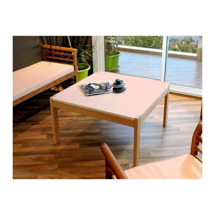 Table basse berlin achat vente table basse table basse - Table basse rose ...