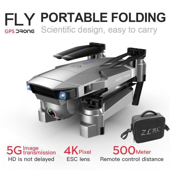 DRONE SG907 GPS Drone avec 4K HD double caméra WIFI FPV