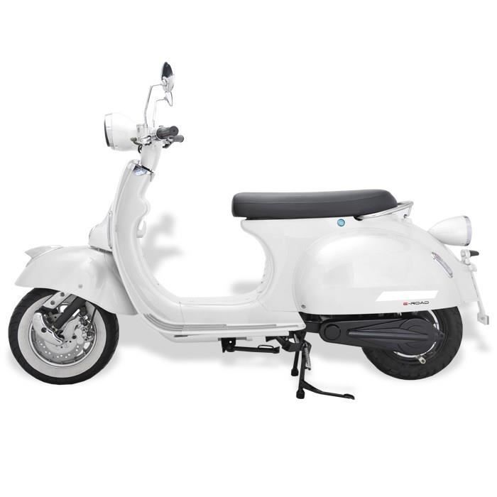 e road scooter electrique 1500 w blanc achat vente scooter e road scooter electrique cdiscount. Black Bedroom Furniture Sets. Home Design Ideas