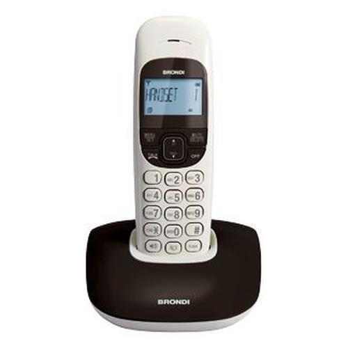 Téléphone fixe Brondi Nice, Téléphone DECT, Haut-parleur, Identif