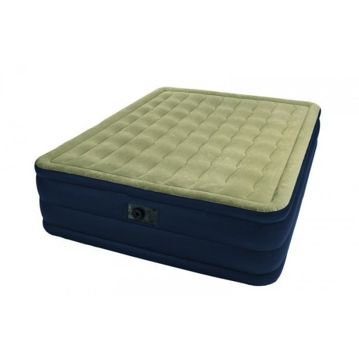 lit d 39 appoint plush bed 2 personnes intex achat vente lit gonflable airbed cdiscount