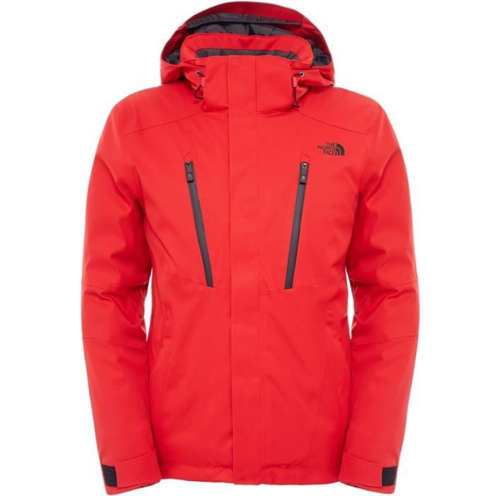 e8eea0a0e9 THE NORTH FACE - Veste Ski Homme - RAVINA JACKET M Rouge - tailles ...