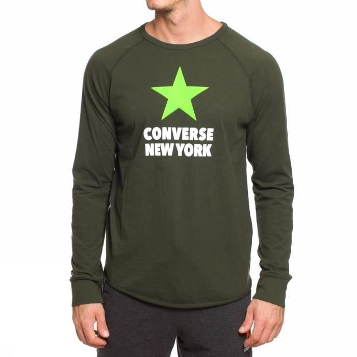 sweat tee shirt converse homme