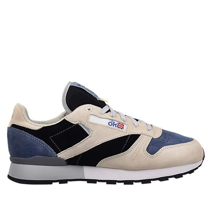 Chaussures Reebok Classic Leather X Garbstore Tan Beige