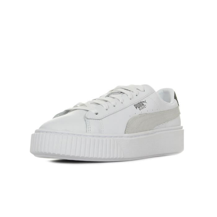 check out f2096 f8c46 Baskets Puma Basket Platform Euphoria Metal
