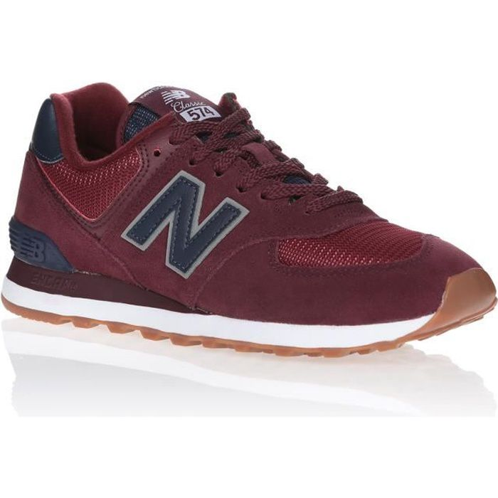 basket new balance rouge