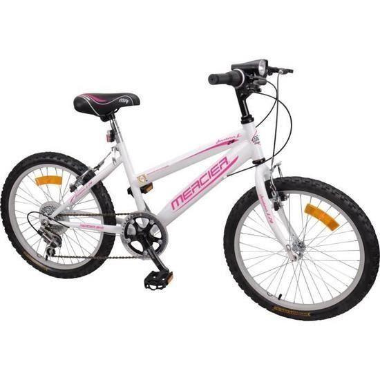VÉLO ENFANT MERCIER Vélo VTT Rigide 20'' - 6 vitesses- Enfant
