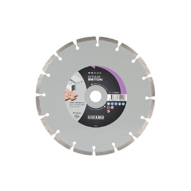 tuiles Prodiamant Disque /à tron/çonner diamant universel 230 x 22,2 mm Pour b/éton pierre rondelles de s/éparation diamant 230 mm