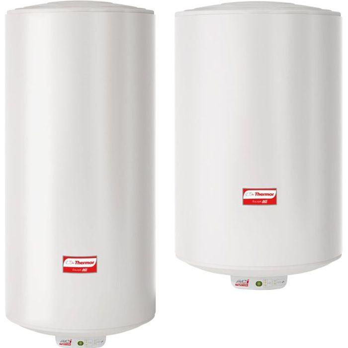 Chauffe-eau /électrique 50 L 80 l 100 l 120 l 30 /à 75 /°C avec accessoires de salle de bain
