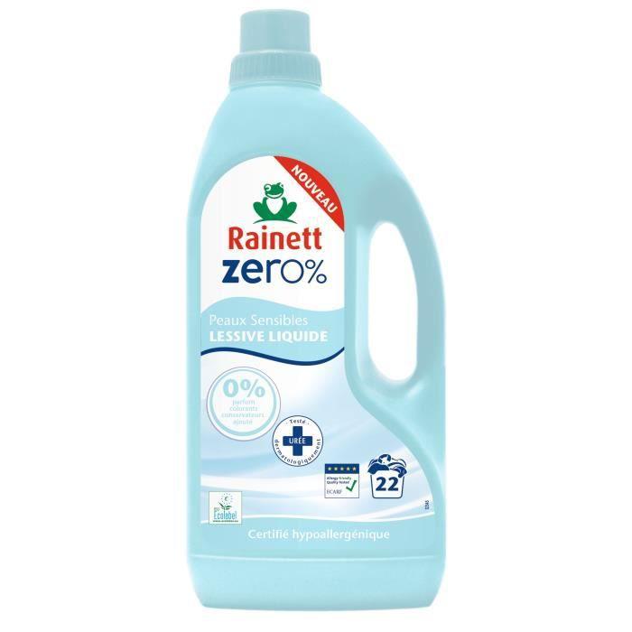 LESSIVE RAINETT Lessive liquide Ecolabel Zero% - 1,5 L