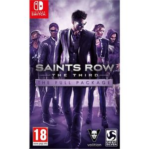 SORTIE JEU NINTENDO SWITCH Saints Row The Third Jeu Switch