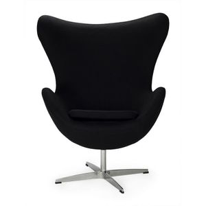 fauteuil egg arne jacobsen achat vente fauteuil egg arne jacobsen pas cher cdiscount. Black Bedroom Furniture Sets. Home Design Ideas