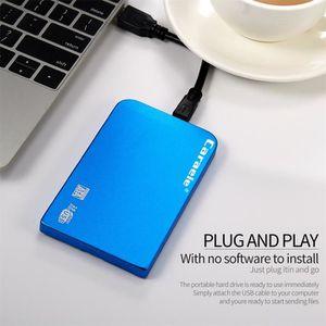 DISQUE DUR EXTERNE 2019 H-6 HDD 500Go USB 3.0 Boîtier métallique port