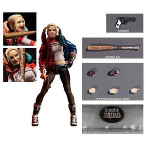 FIGURINE - PERSONNAGE SUICIDE SQUAD - Harley Quinne Cloth Action Figure
