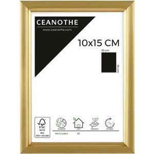 CADRE PHOTO Cadre photo Primo doré 10x15 cm - Ceanothe, marque