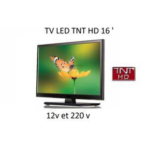 Téléviseur pour véhicule Télévision tv HD 16 POUCES pour camping car / four