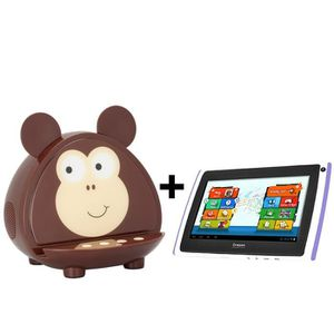 TABLETTE TACTILE Pack Station d'accueil bluetooth Monkey Kids Kit S
