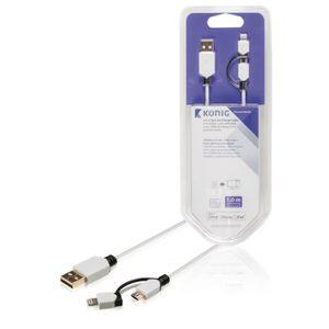 CÂBLE INFORMATIQUE Chargeur KNM39400W10 Sync'n'Charge câble Micro USB