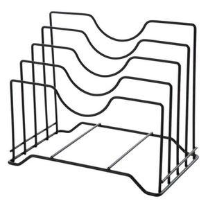 SET ACCESSOIRE CUISINE CS Support de Couvercle Rangement Couvercle Pan Ar
