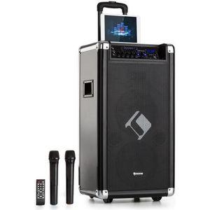 PACK SONO auna Moving 120 Sytème sono PA portable 200W - 2x