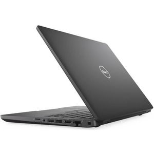 "PC Portable DELL Ordinateur portable Latitude 5000 5400 - 35,6 cm 14"" - Core i5 i5-8265U - 8 Go RAM - 256 Go SSD - Noir pas cher"