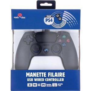 MANETTE JEUX VIDÉO Manette PS4 Filaire Touch Pad avec câble 3m pour P
