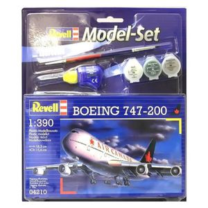 AVION - HÉLICO REVELL Model-Set Boeing 747-200 - Maquette