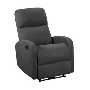 FAUTEUIL Fauteuil inclinable MAX gris anthracite