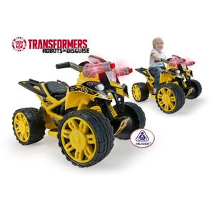 QUAD - KART - BUGGY INJUSA Quad Electrique Enfant The Beast Transforme