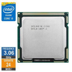 PROCESSEUR Processeur Intel Core I3-540 3.06GHz SLBMQ FCLGA11