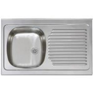 Evier inox poser encastrable 100x50 achat vente for Evier encastrable inox