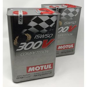HUILE MOTEUR Huile moteur - MOTUL 103920 300V COMPETITION 15W50