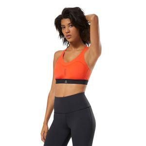 Brassière de sport soutien gorge Fitness femme orange fluo M//L ou XL//XXL neuf