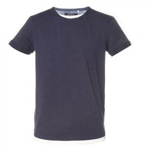 T-SHIRT Tee shirt junior MOHAN bleu DEELUXE